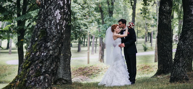 Красивая свадьба Елены и Дмитрия.