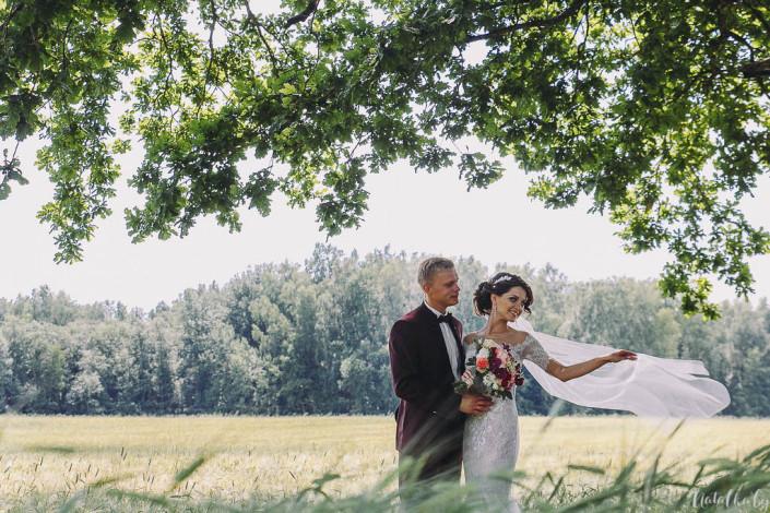 Свадьба Саша + Марина: сборы и прогулка