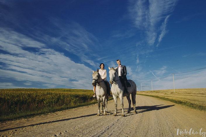 Свадьба Галина + Иван: венчание и праздник в конной усадьбе