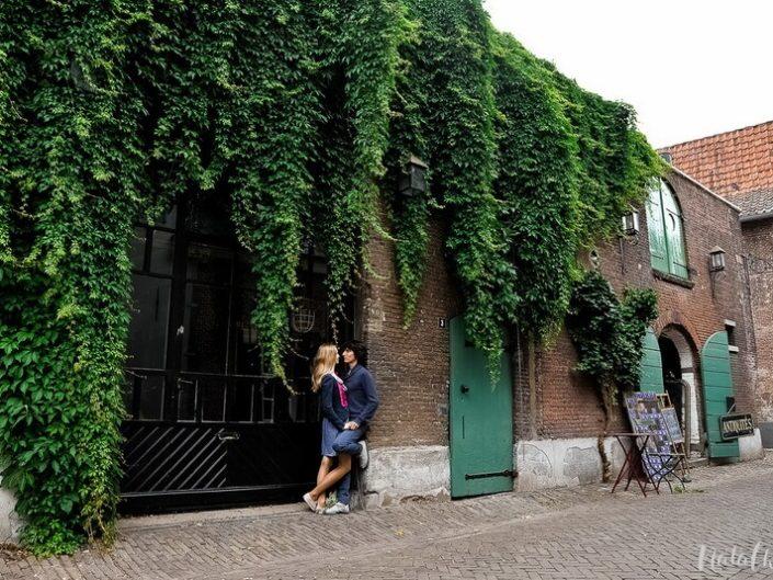 Love story Голандия, Нидерланды, город, молодая пара, лав стори