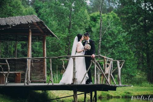 Свадьба на природе на главнйю