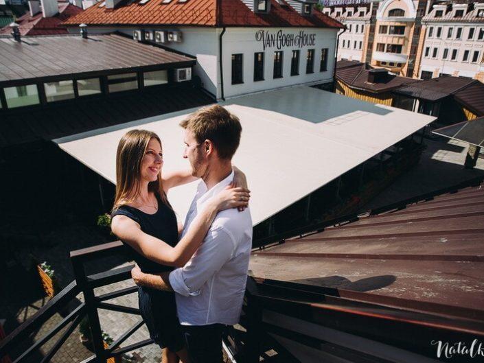 Зибицкая, Love story, Минск, Сатрый Город, молодая пара, лав стори, крыша