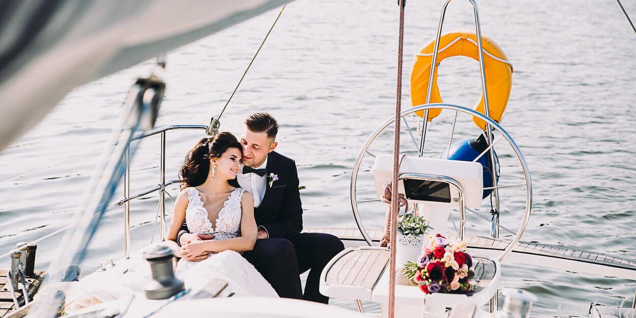 Свадьба на яхте на Минском море